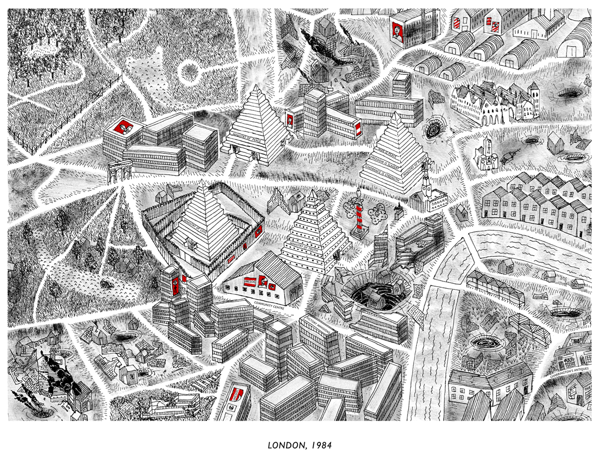 Picture of: 1984 Map Whereabouts Maps Whereabouts Maps