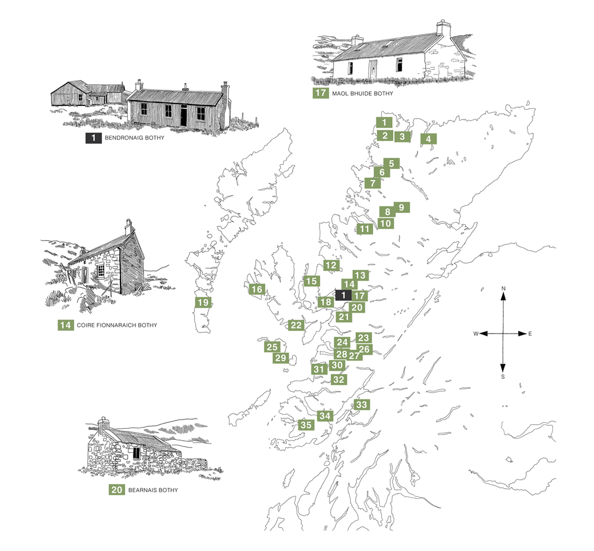Scottish Bothies