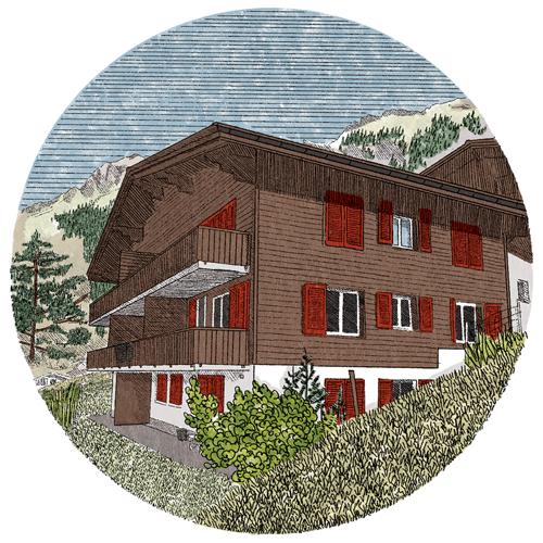 Chalet Tschingelhorn, Switzerland