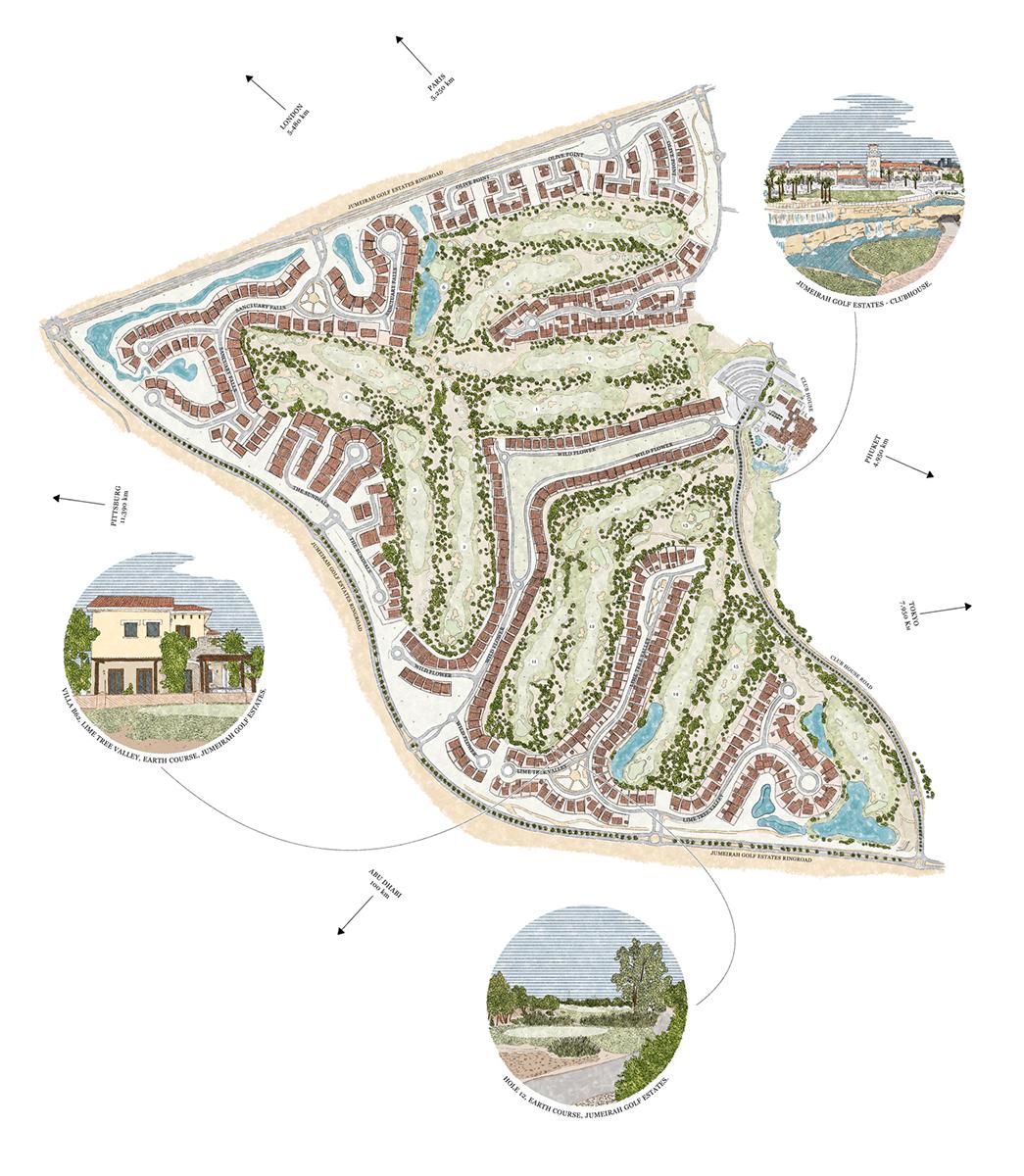 Jumeirah Golf Estates, United Arab Emirates